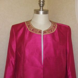 Kaspersky pink blazer